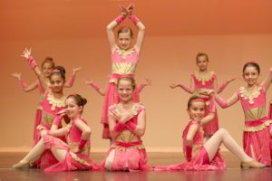 Dance school recital